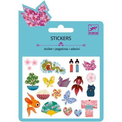 Minis stickers motifs japonais