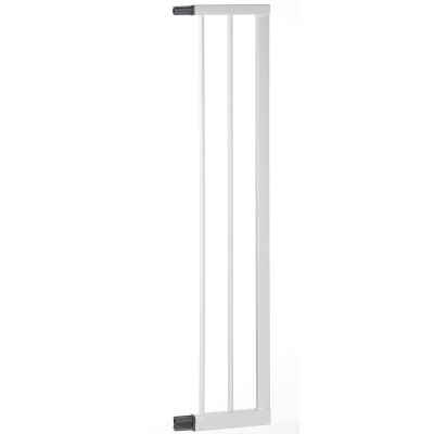 Extension pour barrière de sécurité easy lock blanc métal (16 cm)