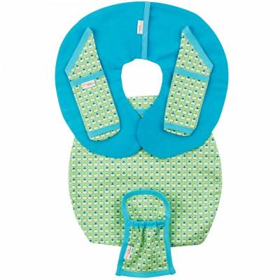Protège ceinture de sécurité pour siège-auto pebble philo green