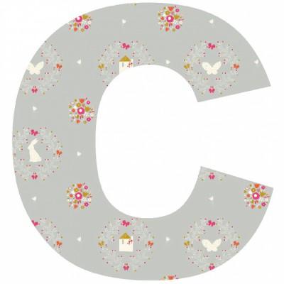 Lettre adhésive c secret garden by susan driscoll