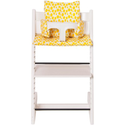 Assise balloon yellow pour chaise haute stokke tripp trapp for Assise pour chaise haute