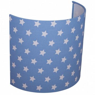 applique murale bleu ciel toile 20 x 24 cm little dutch. Black Bedroom Furniture Sets. Home Design Ideas