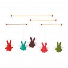 Mobile baguettes anges lapins - Trousselier