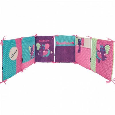 Tour de lit sandykilos les déglingos (pour lits 60 x 120 et 70 x 140 cm)