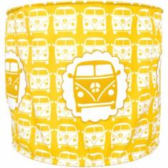 Suspension lampion Little van jaune (diam�tre 35 cm) - Taftan