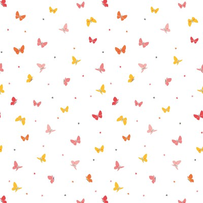 papier peint papillon hello spring by laetitia ho. Black Bedroom Furniture Sets. Home Design Ideas