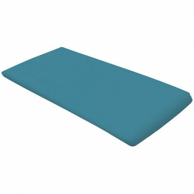 Matelas de voyage roulé turquoise (60 x 120 cm)