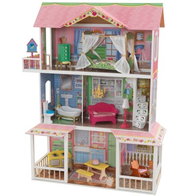 comment fabriquer une maison de barbie en carton poupees ak4. Black Bedroom Furniture Sets. Home Design Ideas