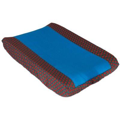 Housse de matelas à langer retro vintage bleu (50 x 70 cm)