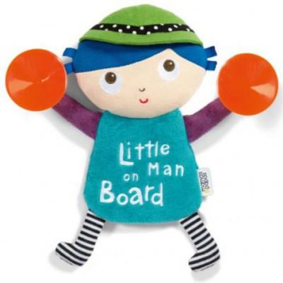Signalétique bébé à bord ventouse petit homme à bord