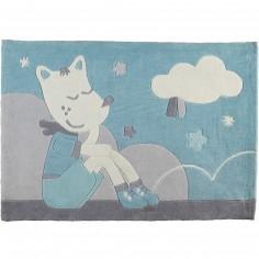 Tapis rectangulaire Lulu Cheri (90 x 130 cm) - Sauthon Baby D�co