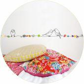 Frise Oiseaux sur fil de perles (5 m) - Mimi'lou