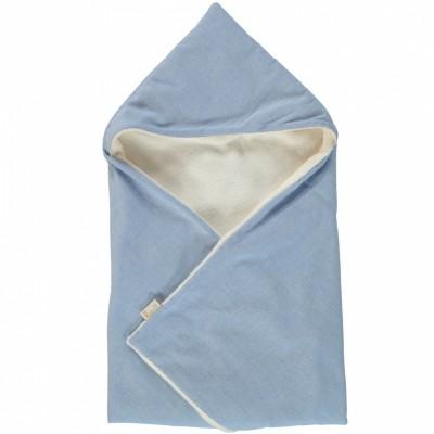 Couverture cape marius bleu (70 x 70 cm)