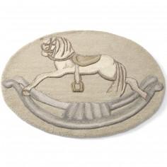 Tapis oval cheval � bascule Il �tait une fois (95 x 75 cm) - Mamas and Papas