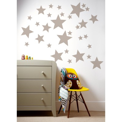 sticker mural toiles patternology mamas and papas. Black Bedroom Furniture Sets. Home Design Ideas