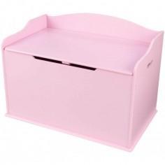 Coffre jouets austin naturel kidkraft berceau magique - Coffre a jouet rose ...