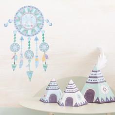 sticker mural b b chambre b b et enfant berceau magique. Black Bedroom Furniture Sets. Home Design Ideas