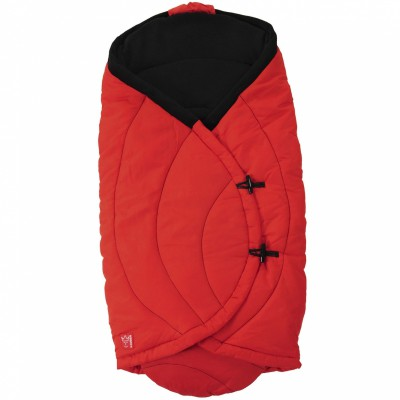 Couverture nomade coo coon rouge (0-12 mois)