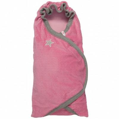 Couverture nomade nouveau né rose wrapper newborn american fifties
