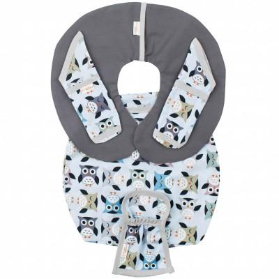 Protège ceinture de sécurité pour siège-auto pebble owl