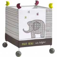 Lampe cube � poser India - Sauthon Baby D�co