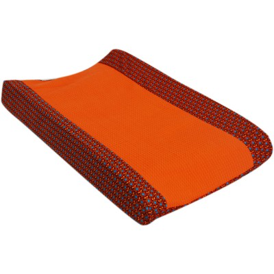 Housse de matelas à langer retro vintage orange (50 x 70 cm)