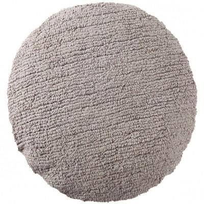 coussin enfant rond gris clair diamtre 45 cm. Black Bedroom Furniture Sets. Home Design Ideas