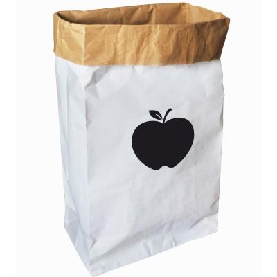 Sac en papier pomme