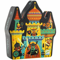 Puzzle Le ch�teau fort (54 pi�ces) - Djeco
