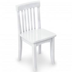 Chaise pour enfant avalon blanche - KidKraft
