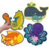 Mon premier puzzle animaux de la mer (18 pièces) - Petit Collage