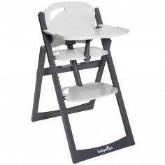 chaise haute volutive family bois marron fonc geuther. Black Bedroom Furniture Sets. Home Design Ideas