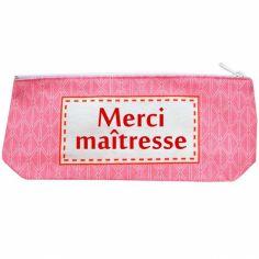 Trousse vintage rose (personnalisable) - Les Griottes