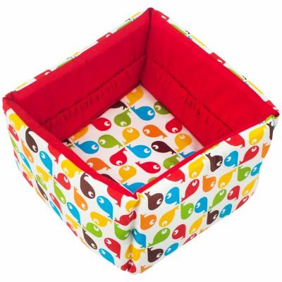 corbeille en tissu fish trixie baby berceau magique. Black Bedroom Furniture Sets. Home Design Ideas