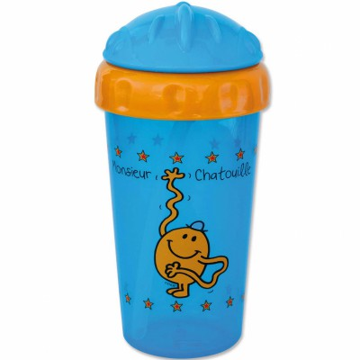 Grande tasse flip-top monsieur chatouille