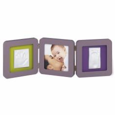 Cadre photo empreinte Baby Art Double Print Frame taupe - Baby Art