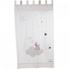 rideau noisette 105 x 180 cm sauthon baby dco - Rideaux Chambre Bebe