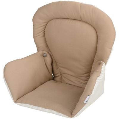 Coussin de chaise tissu tinours