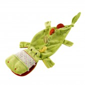 Doudou marionnette crocodile Th�ophile - Lilliputiens