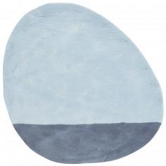 Tapis coton stone skylight (80 x 81 cm)