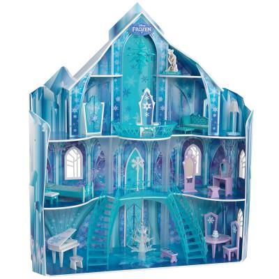 Maison de poupée manoir de La Reine des Neiges