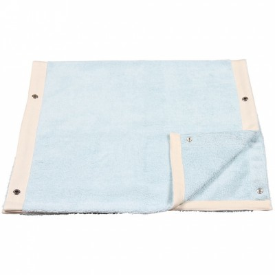 Housse de matelas à langer avec serviette détachable venice menthe (56 x 72 cm)