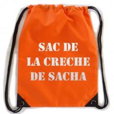 Sac d'activit� orange (personnalisable) - Les Griottes
