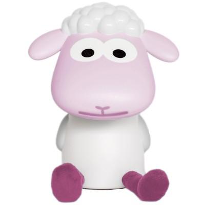 Veilleuse nomade fin le mouton rose