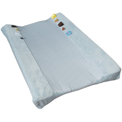 Housse de matelas à langer happy dressing fading blue (45 x 70 cm)