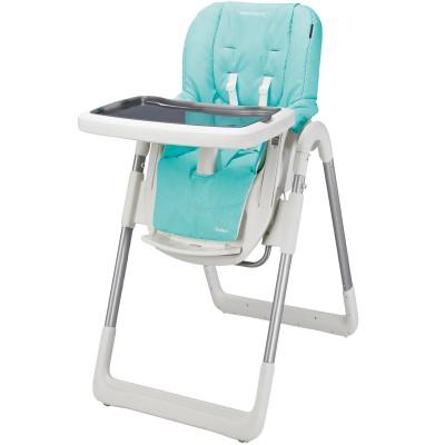 Chaise haute kaléo bleue