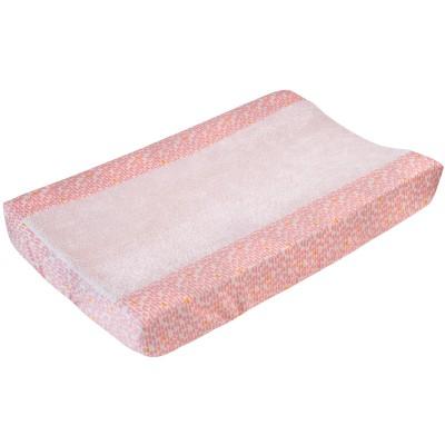 Housse de matelas à langer pebble pink (45 x 68 cm)
