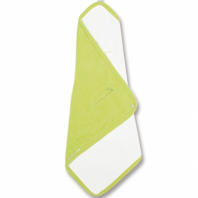 Couverture nomade biside bamboo lime