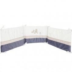 Tour de lit veloudoux Bao et Wapi (pour lits 60 x 120 cm et 70 x 140 cm) - Noukie's