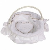 Corbeille Emma blanc - Nougatine